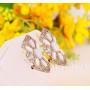 Серьги «Баронесса» винтажные с опалами и кристаллами