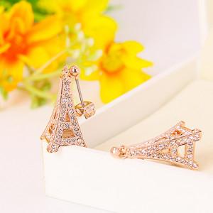 Комплект «Париж» с австрийскими кристаллами, покрытие - золото