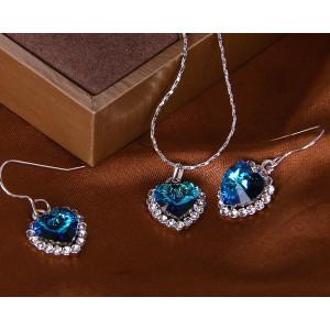 Комплект «Герда» с кристаллами Сваровски