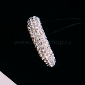 Кольцо «Бриллиантовый блеск» с кристаллами Сваровски