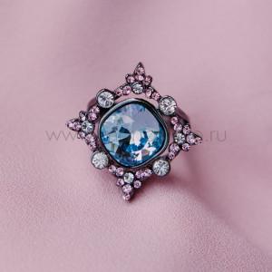 Кольцо «1001 ночь» с кристаллами Сваровски