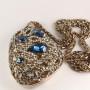 Кулон «Фамильные ценности» с инкрустацией кристаллами Сваровски