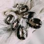 Комплект «Льдинка» с крупными серыми кристаллами