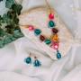 Набор Радужное настроение с разноцветными кристаллами