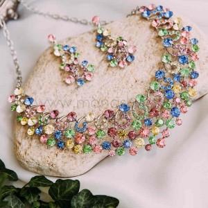 Комплект «Мозаика» с разноцветными кристаллами
