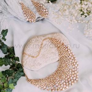 Набор «Исполнение мечты» с белыми кристаллами