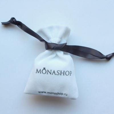 Вельветовый мешочек для украшений MONA