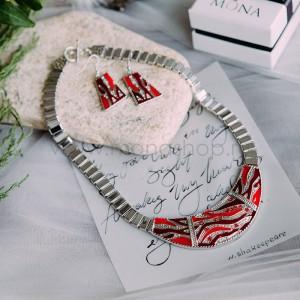 Комплект «Мраморный» с покрытием эмалью