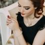 Браслет «Оковы любви» с белыми циркониями