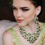 Набор «Малахитовая шкатулка» с зелеными кристаллами